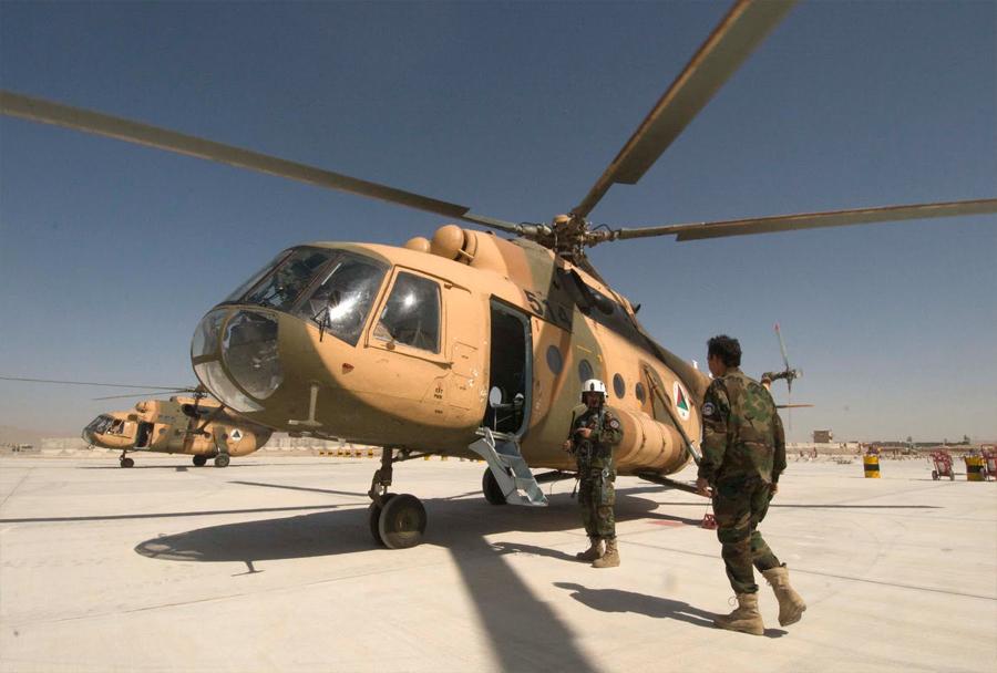 Afganistanski helikopter Mi-17