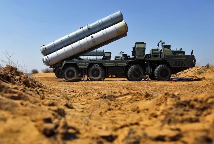 Sistem protizračne obrambe S-300.
