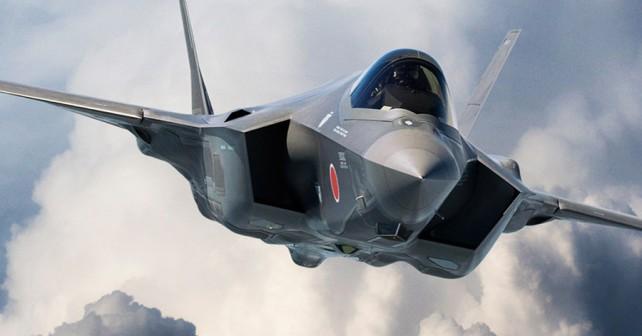 Japonski lovec F-35