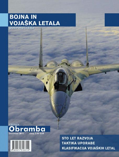 Bojna in vojaška letala, posebna izdaja revije Obramba