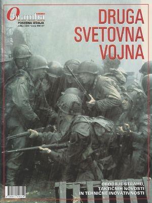 Posebno izdajo revije Obramba z naslovom DRUGA SVETOVNA VOJNA, ki smo jo izdali leta 2005 ob 60. obletnici konca druge svetovne vojne.