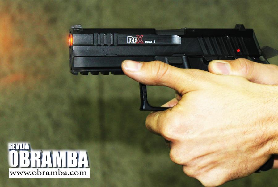 Pištola Rex zero1