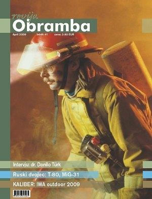 Revija Obramba, april 2009