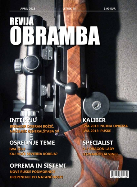 Revija Obramba april 2013