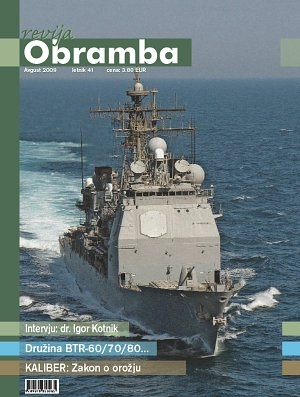 Revija Obramba, avgust 2009