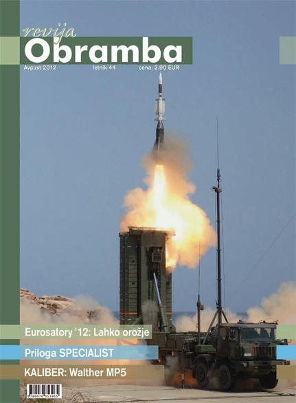 Revija Obramba avgust 2012