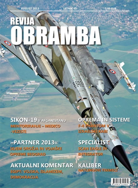 Revija Obramba avgust 2013