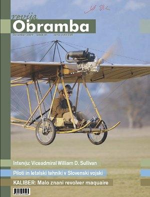 V reviji Obramba, december 2009, si preberite o šolanju pilotov v Slovenski vojski, avtomatskih nožih in zakonodaji,...