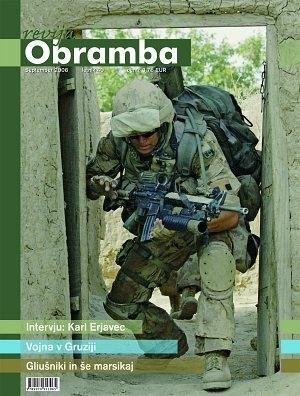 Revija Obramba, september 2008