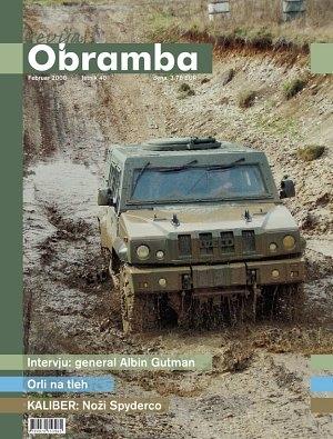 Revija Obramba, februar 2008