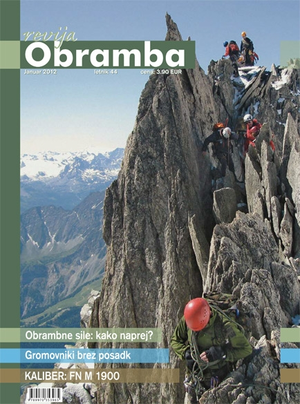 Revija Obramba januar 2012