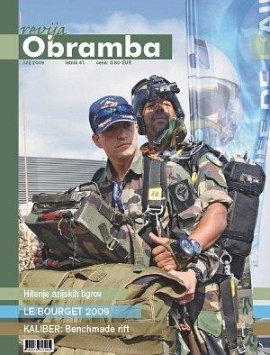 Revija Obramba, julij 2009