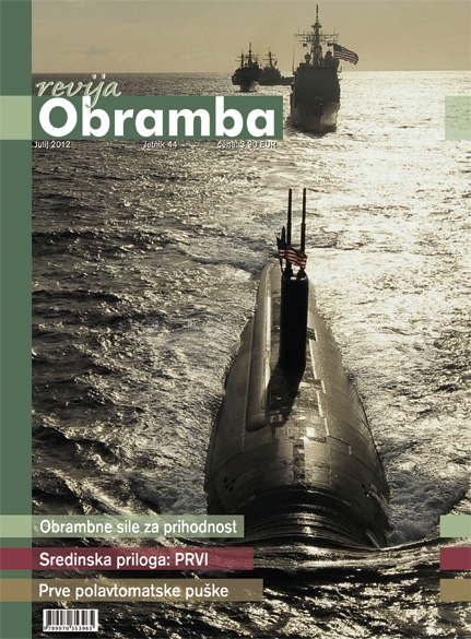 Revija Obramba julij 2012