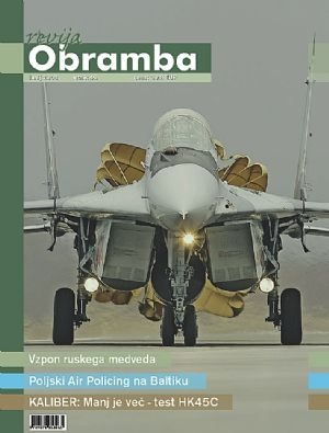 Revija Obramba, junij 2008