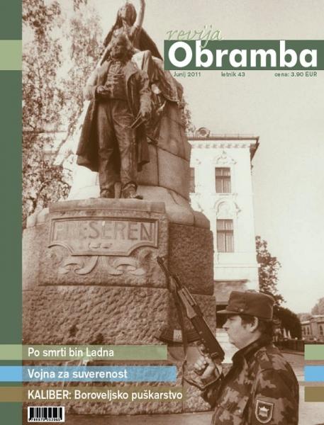 Revija Obramba junij 2011