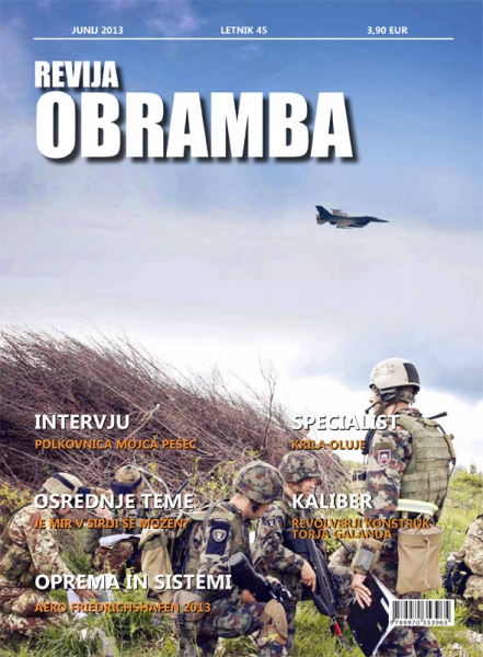 Revija Obramba junij 2013