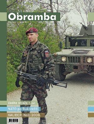 Revija Obramba, maj 2008