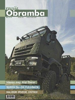 Revija Obramba maj 2010