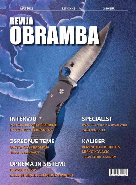 Revija Obramba maj 2013