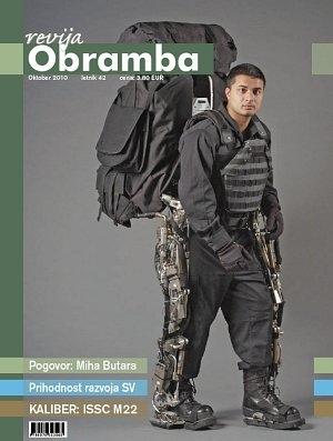 Revija Obramba oktober 2010