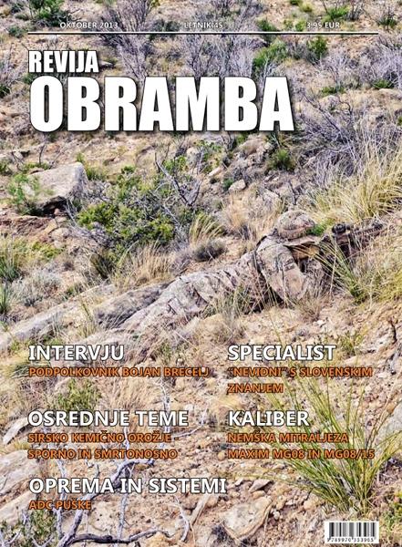Revija Obramba oktober 2013