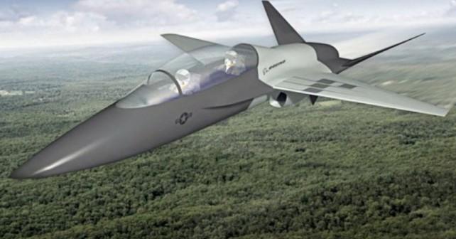 Boeingov koncept šolskega reaktivca T-X