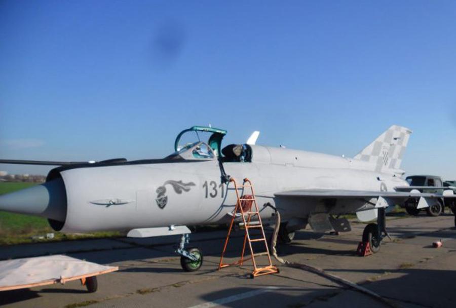 """Novi"" hrvaški lovci MiG-21"
