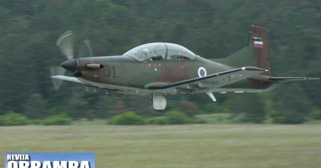 Letalo Pilatus PC-9M Slovenske vojske