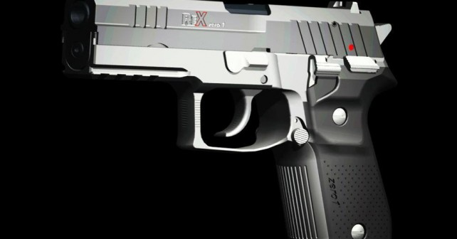 Prva slovenska pištola Rex zero 1