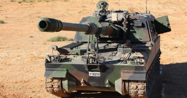 Turška samovozna havbica T-155 firtina