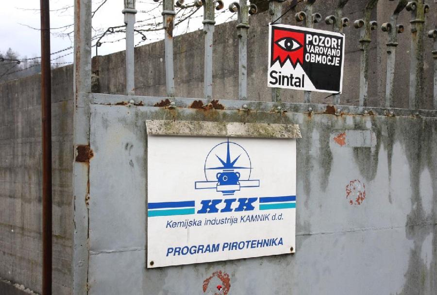 KIK- Kemična industrija Kamnik program pirotehnika