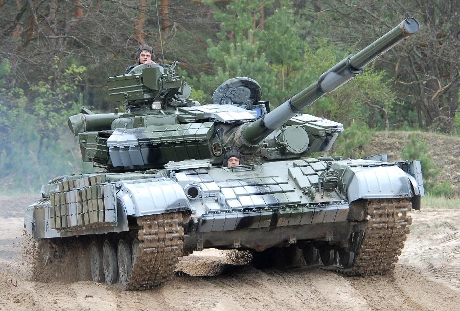 جمهورية الكونغو الديمقراطيه تشتري دبابات من اوكرانيا  T-64BV1-ukrajinski-glavni-bojni-tank-