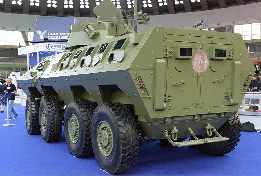 Yugoimport - oklepno vozilo LAZAR II 8x8