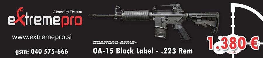 Extrem pro puška AO-15 Black Label