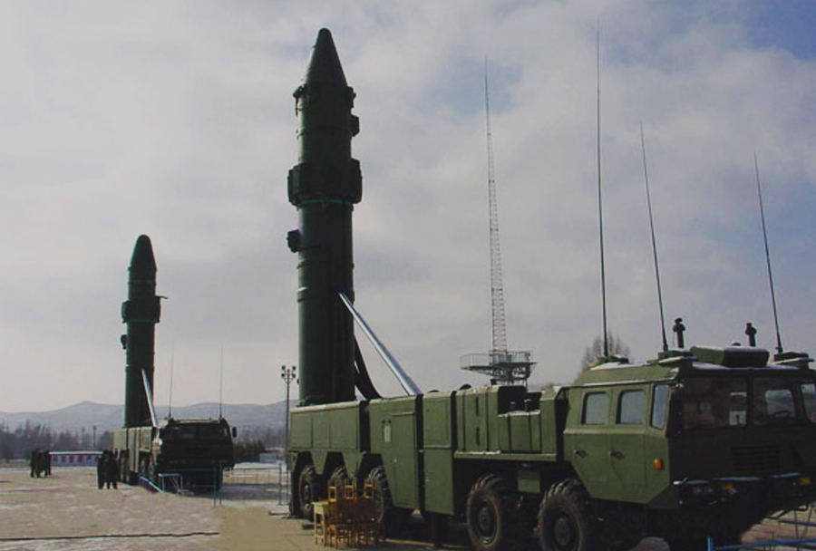 Kitajska balistična raketa DF-21