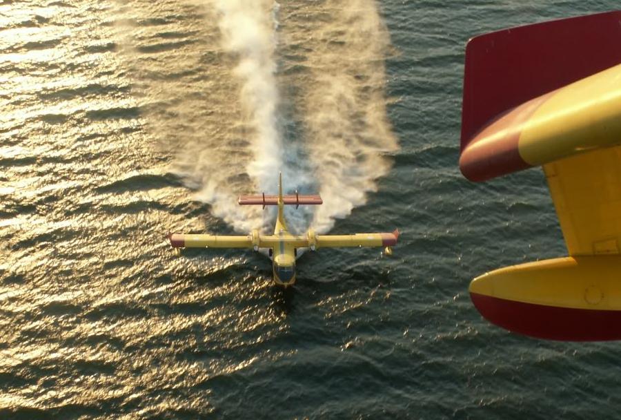 Letalo za gašenje požarov Canadair CL-415