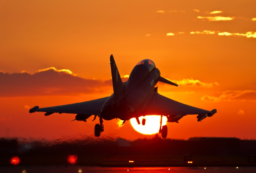 Lovec Eurofighter typhoon