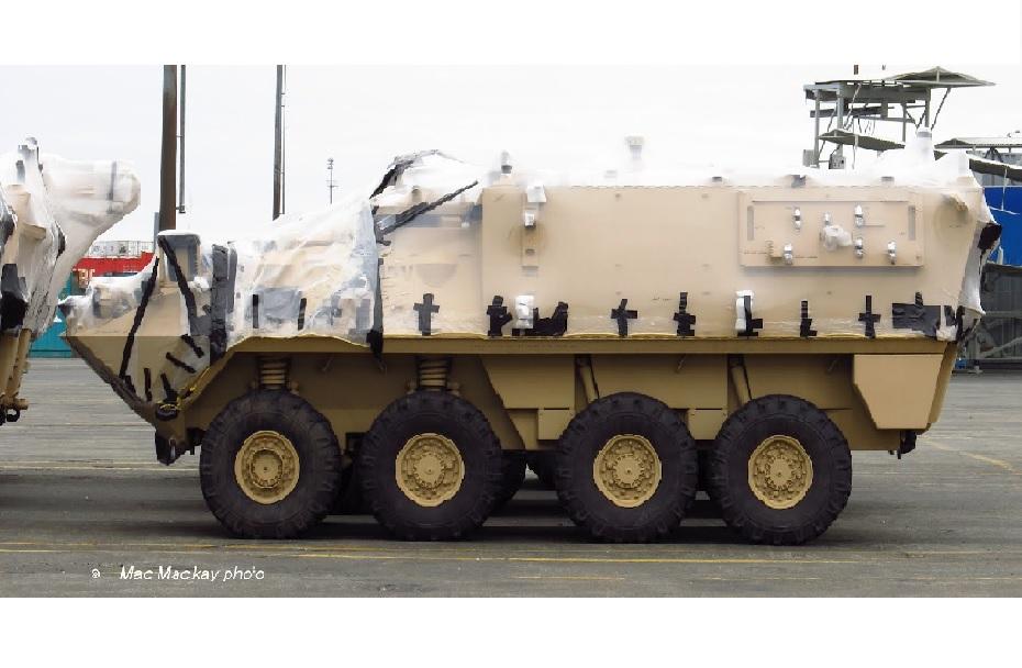 Oklepno vozilo LAV III 8x8 za Saudsko Arabijo