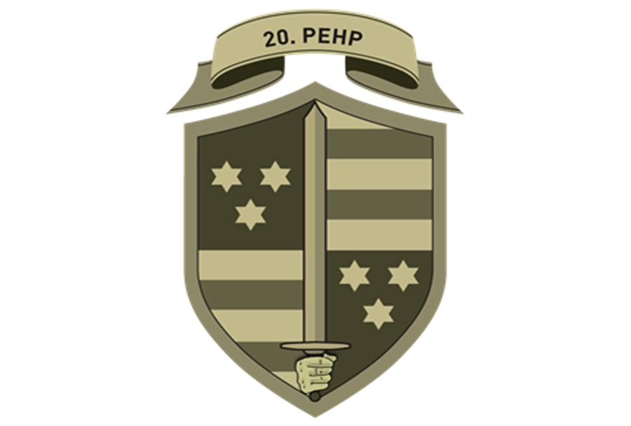 Oznaka pripadnosti - 20. pehotni polk Slovenske vojske