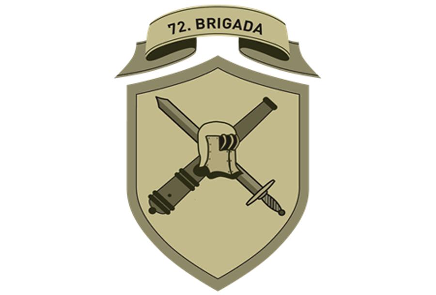 Oznaka pripadnosti - poveljstvo 72. brigade Slovenske vojske