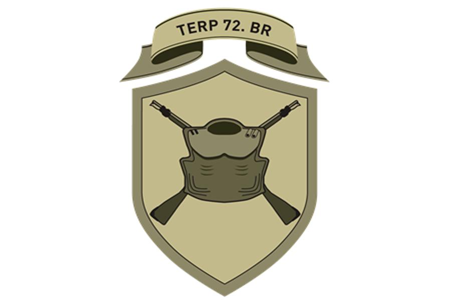 Oznaka pripadnosti - teritorialni polk 72. brigade Slovenske vojske