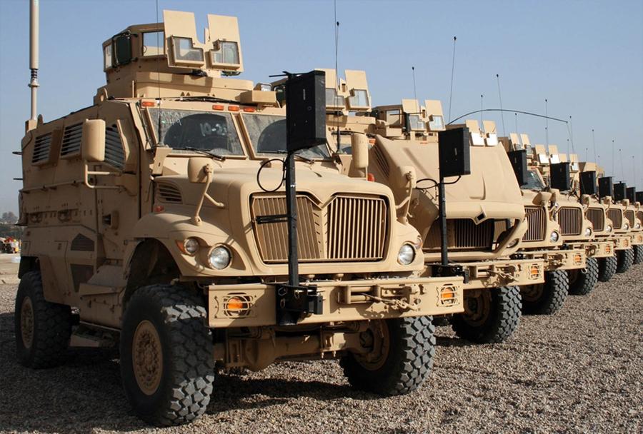 Ameriško protiminsko zaščiteno oklepno vozilo MRAP