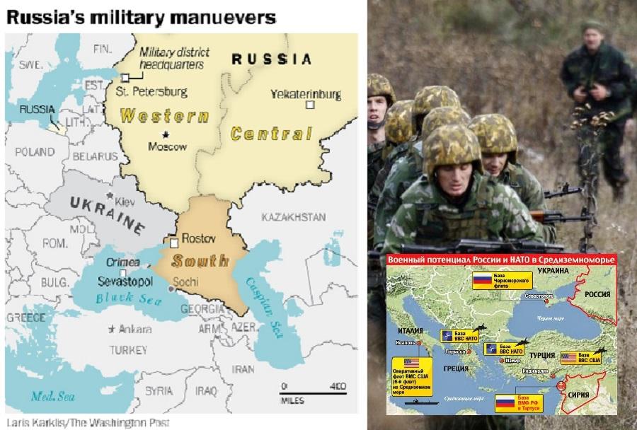 Ruske vojaške vaje