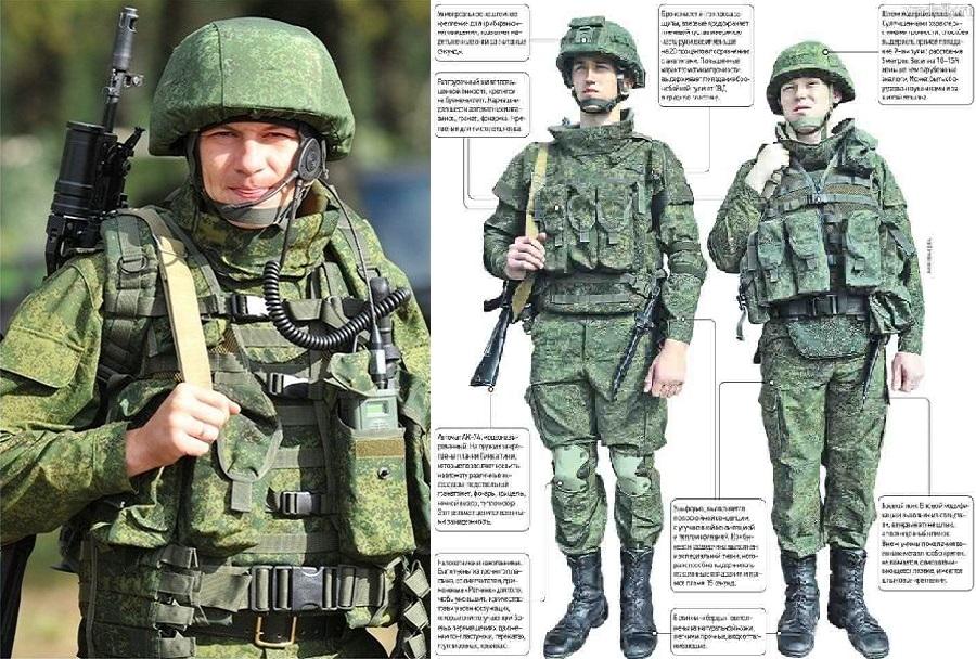Ruski bojevnik 21. stoletja - ratnik