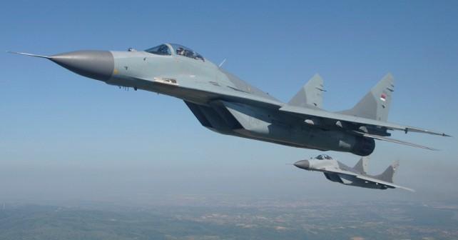 Srbska lovca MiG-29