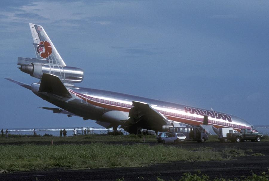 Potniško letalo McDonnell Douglas DC-10 - nesreča na Havajih
