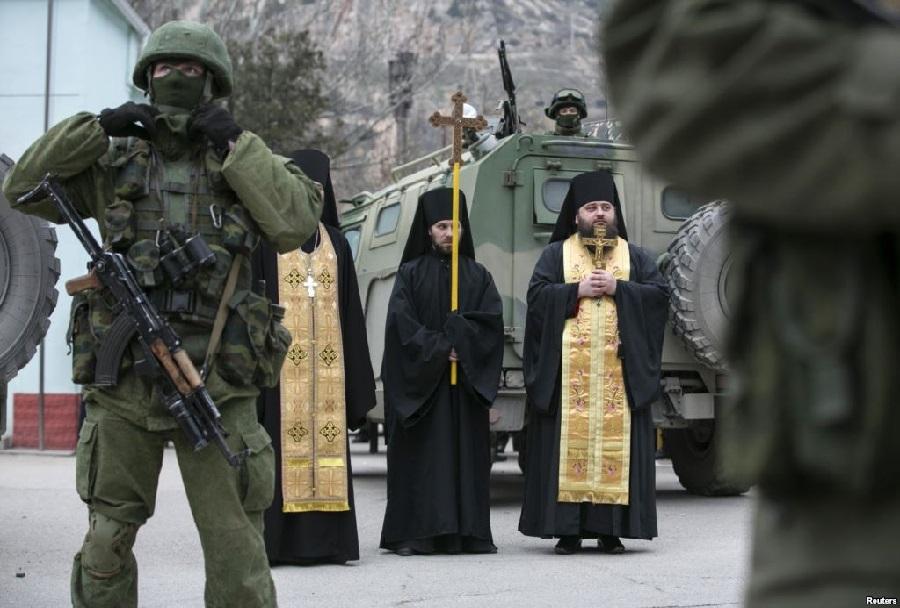 Ruska vojska na Krimskem polotoku