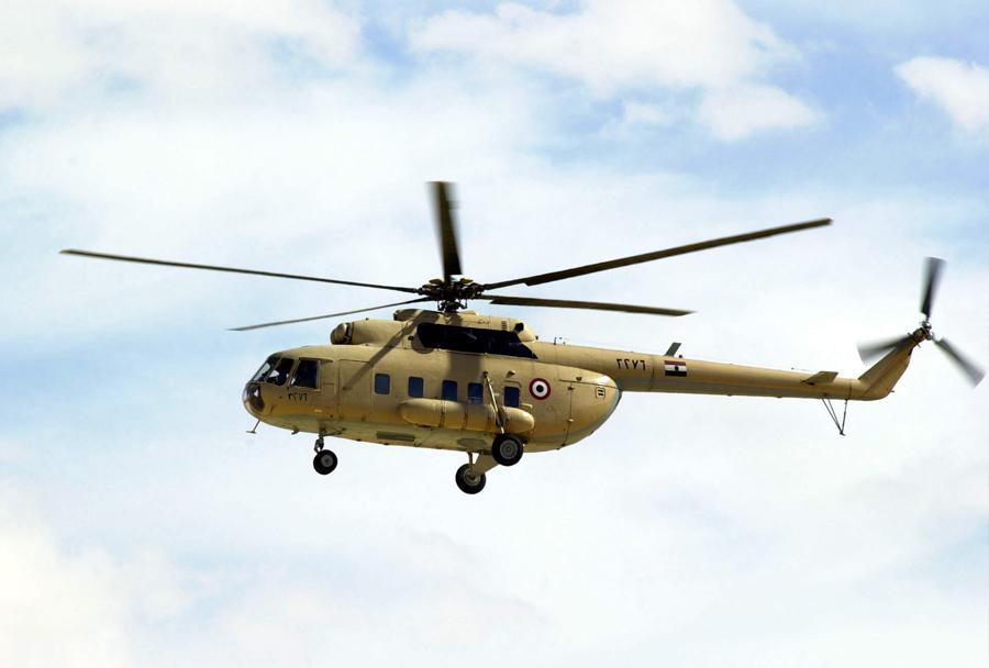 Helikopter Mil Mi-8 - Egiptovska vojska