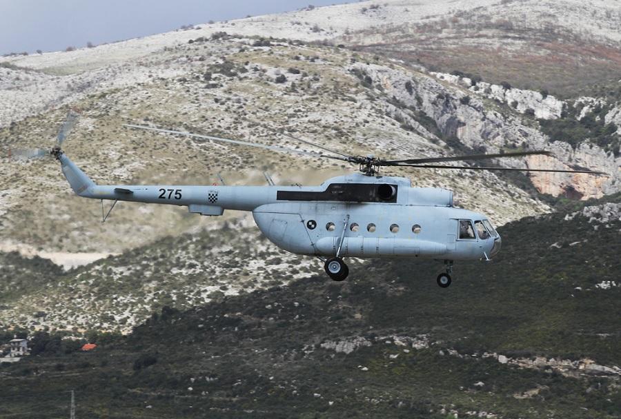 Hrvaški transportni helikopter Mi-8 (H275)