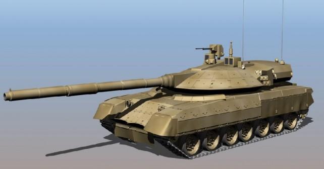 Koncept novega ruskega tanka armata